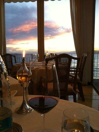 Hotel Cenobio Dei Dogi : Aussicht aus dem Hotelrestaurant