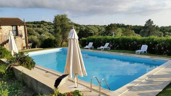 Agriturismo Case Cordovani : La piscina