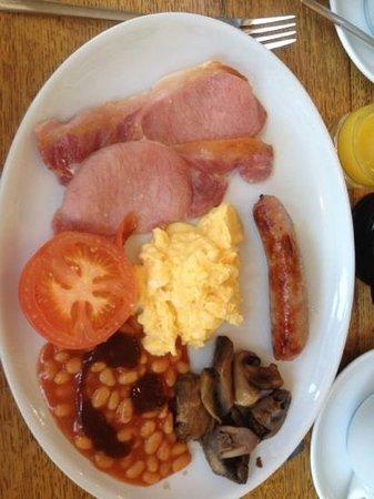 Pebble Beach Guest House: Full Welsh Breakfast - very nice :-) x