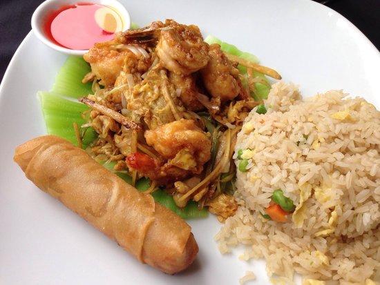 Moongate Asian Bistro: Moon Shrimp...very good!