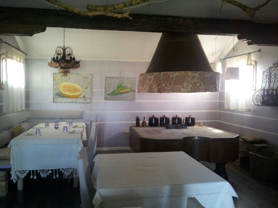 Agrimargherita: Ristorante - sala interna
