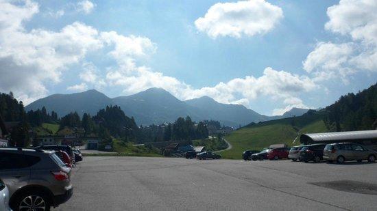 Alpenhotel Tauernkoenig: bergen