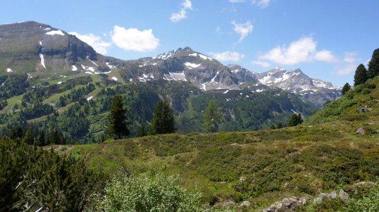 Alpenhotel Tauernkoenig: Mooie bergen en wandelingen