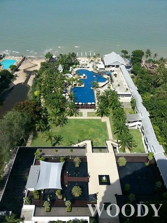 Novotel Hua Hin Cha Am Beach Resort and Spa: Sea view