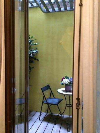 Ca La Maria : open patio