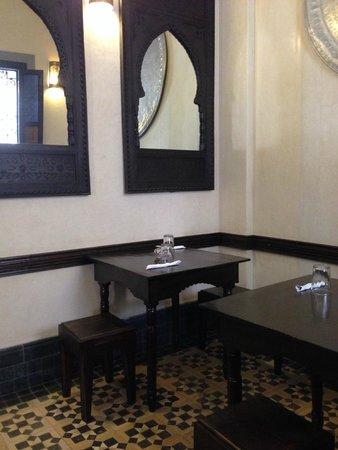 Bazaar Cafe: sala 1