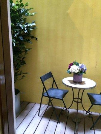 Ca La Maria: patio