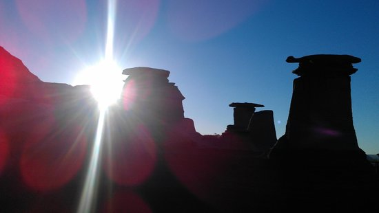 Hoodoos: Morning sun