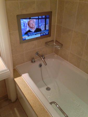 The Royal Horseguards : The fabulous bathtub!