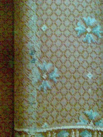 Dryburgh Abbey Hotel: Threadbare carpet on main staircase