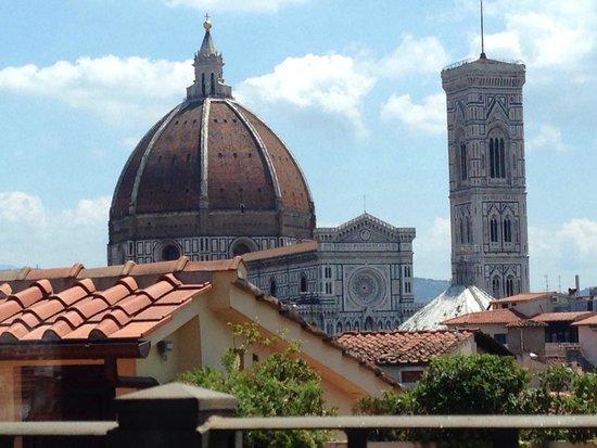 Grand Hotel Baglioni Firenze : La vista dall'hotel