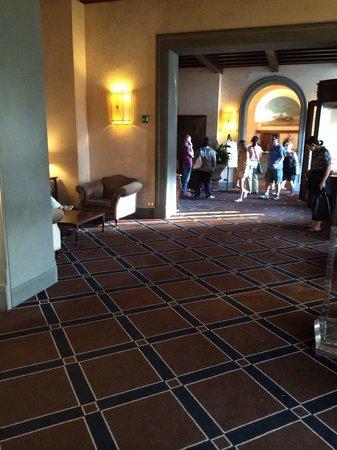 Grand Hotel Baglioni Firenze : La hall dell'albergo