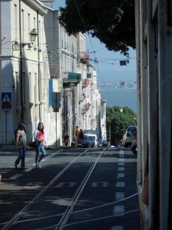 Hotel Santa Justa: Tram ride - route 28