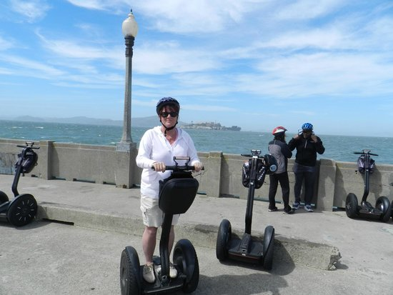 City Segway Tours San Francisco : woop look at me on the segway!
