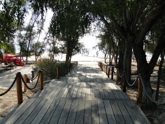 Les Dunes d'Ifaty: acceso a playa