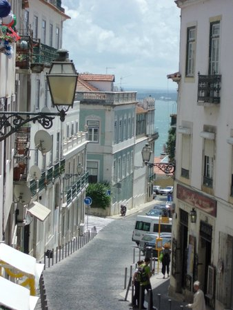 Hotel Santa Justa: View from St George's Castle