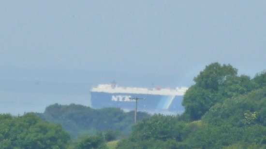 "Longlands : Ship in the Bristol Channel taken from the deck of ""Luscombe"""