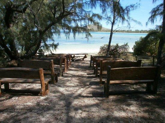 Ilot Gabriel Beach : la chapelle