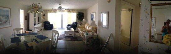 Crystal Sands: Living Room