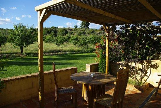 Masia Durba: La terraza de la habitación