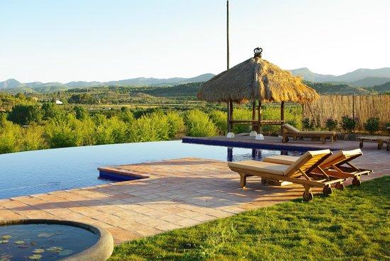 Masia Durba: la maravillosa piscina