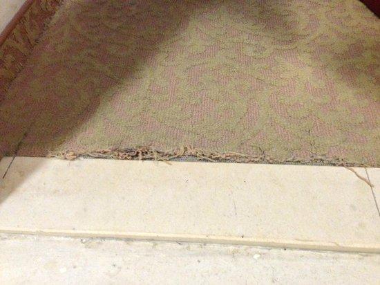 Royal Rimonim Dead Sea: Dated carpets