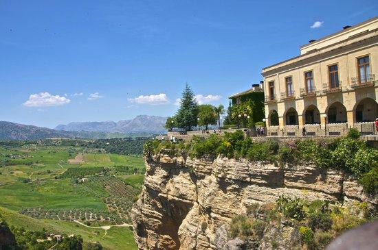 El Tajo de Ronda: view into country side