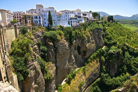 El Tajo: view from patios