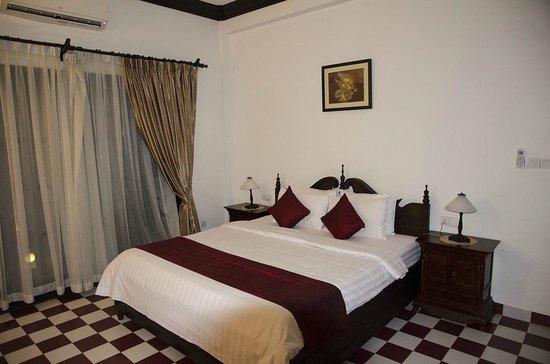 Chateau d'Angkor La Residence : 寝室