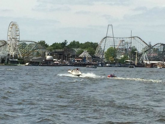 Indiana Beach Boardwalk Resort: View from the Shafer Queen