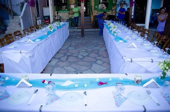 Remezzo : Tables decorated beautifully