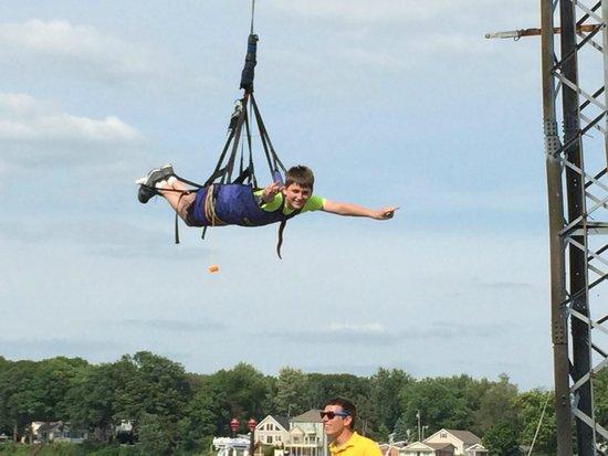 Indiana Beach Amusement & Waterpark: Sky Coaster