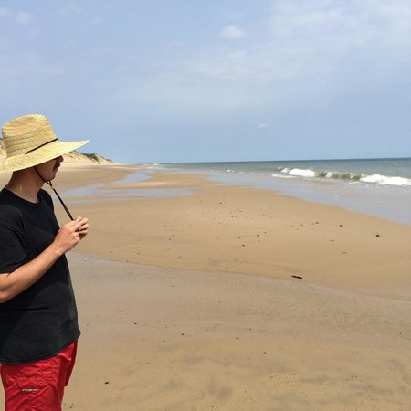 Wellfleet Beachcomber : Deep in thought