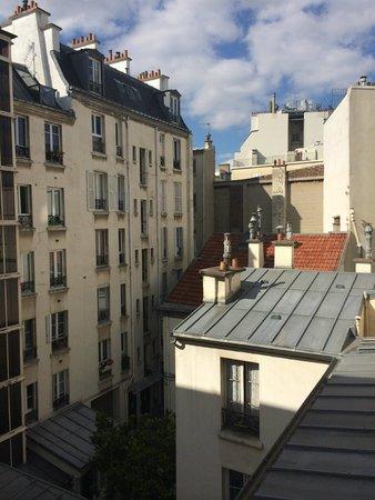 Hotel Muguet: view