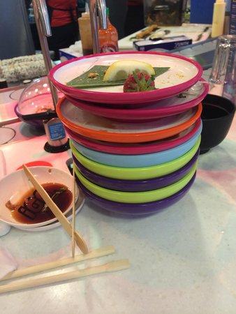 YO! Sushi - House of Fraser Glasgow: Sunday munch!