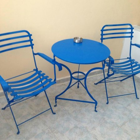 Afrodete Hotel: terrace