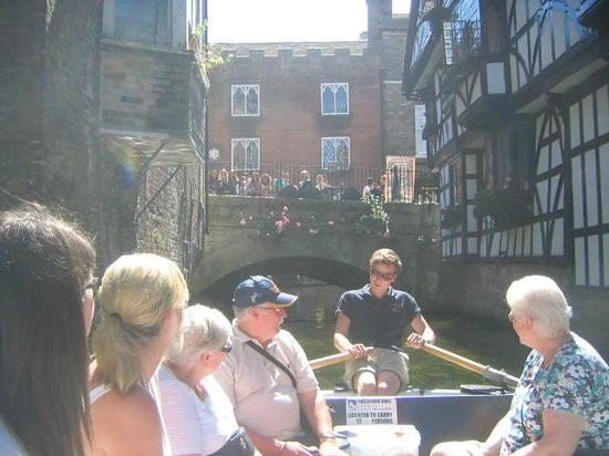 Canterbury Historic River Tours: scenic history lesson!