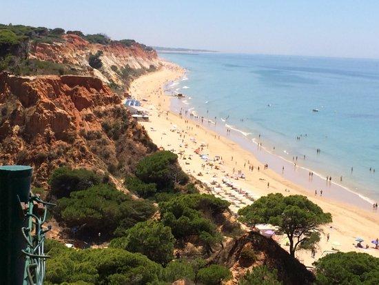 PortoBay Falesia: Beach view