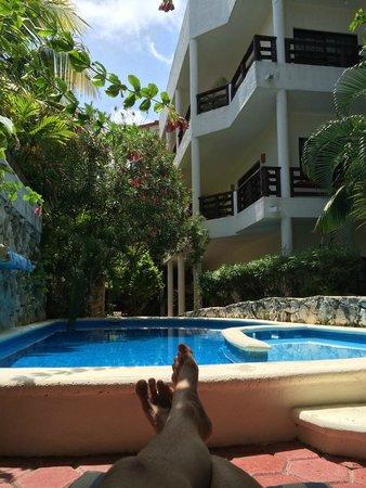 Hotel el Moro: Quiet pool area