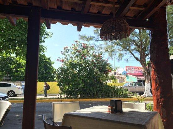 Hotel el Moro : View during breakfast