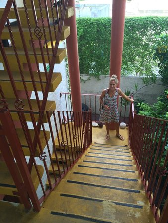 Hotel el Moro: stairs near the entrance