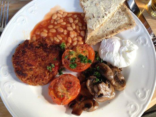 Lancrigg Vegetarian Country House Hotel: Full English