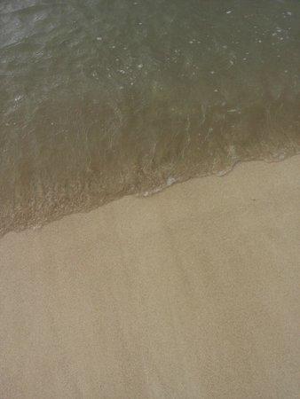 Grand Bahia Principe La Romana: Agua de la playa del hotel Bahía Príncipe La Romana
