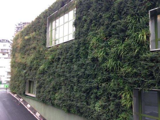 Ibis Paris 17 Clichy-Batignolles: plantenmuur