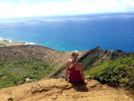 Koko Crater Trail: At the top