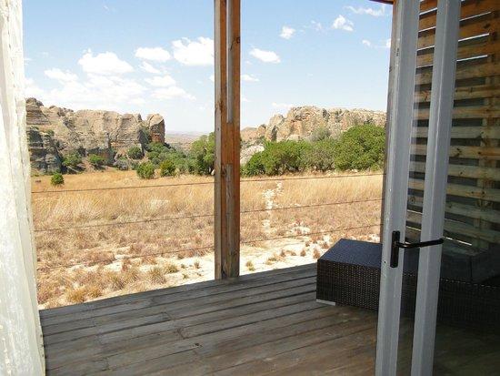 Isalo Rock Lodge : Vistas desde la habitacion