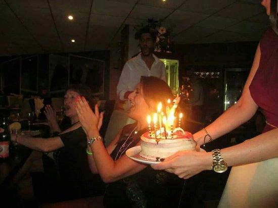La Strada Restaurant: The whole restaurant sang happy birthday. Fab atmosphere