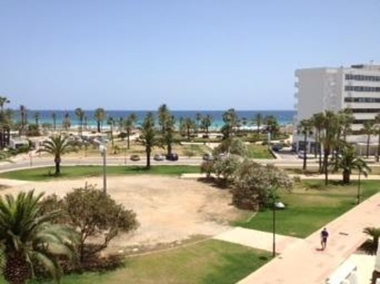 Hipotels Aparthotel Cala Millor Park : our view