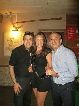 La Strada Restaurant: True gents...made sure the evening was perfect