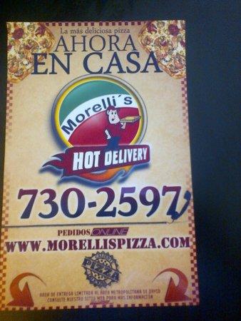 Morelli's Pizza por Metro : Delivery